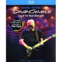 David Gilmour - Remember That Night - Live At The Royal Albert Hall [Blu-ray]