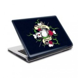 Lap top skin: With Love for Ever 15'-17'