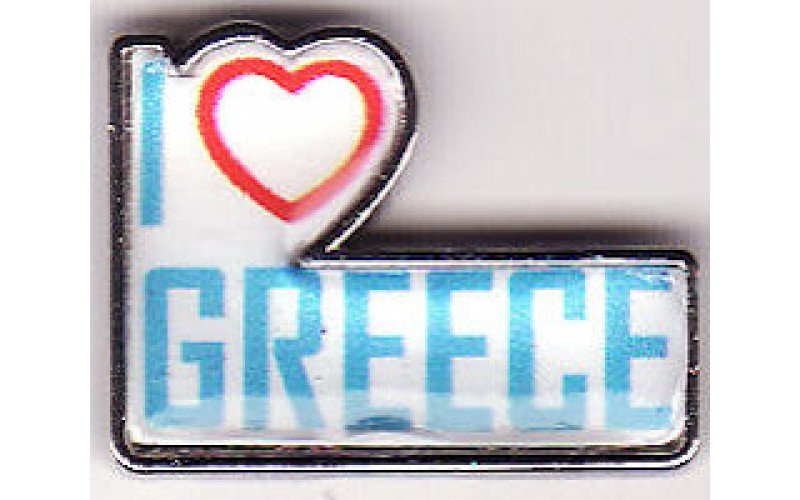 Greek Pin / I love Greece
