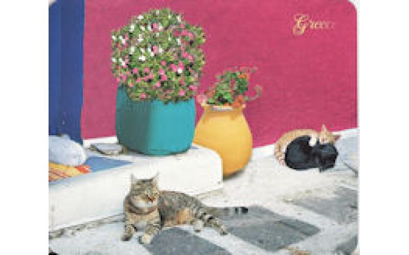 Mouse Pad: Ελληνικές γάτες