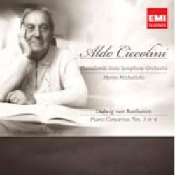 Aldo Ciccolini - Beethoven : Concerto for Piano & Orche Stra Nos. 3