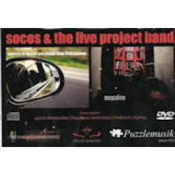 Socos And The Live Project Band - Objects In Mirror Are Closer Than They Appear
