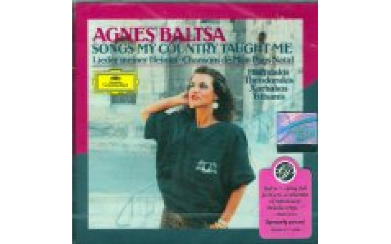 Baltsa Agnes - Songs my country taught me