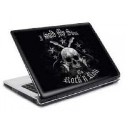 Lap top skin: I sold my soul to RnR 15'-17'